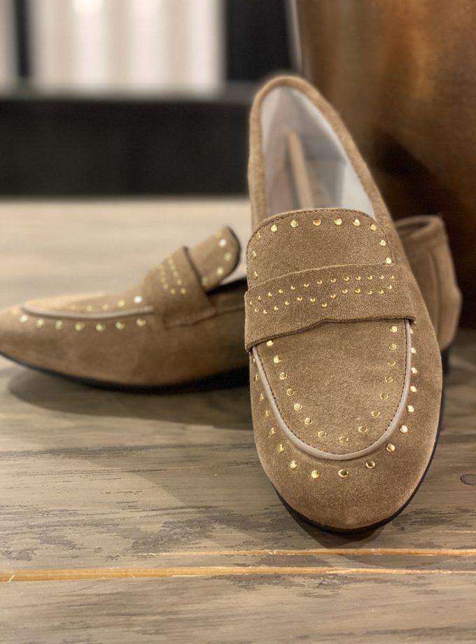 loafers Eindhoven suède beige