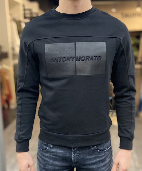 Antony Morato 0696 Sweater Zwart Tauphe