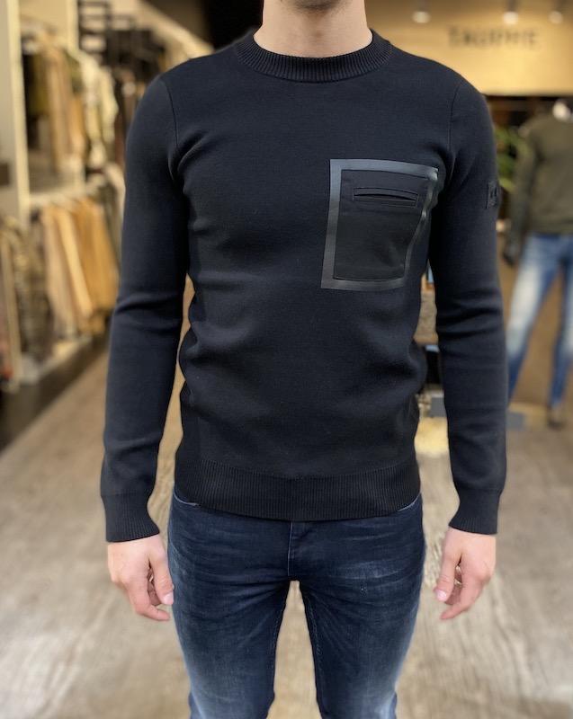 purewhite sweater zwart