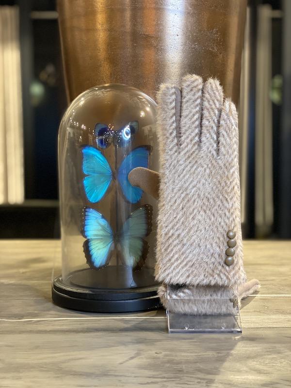 handschoenen zand kleur